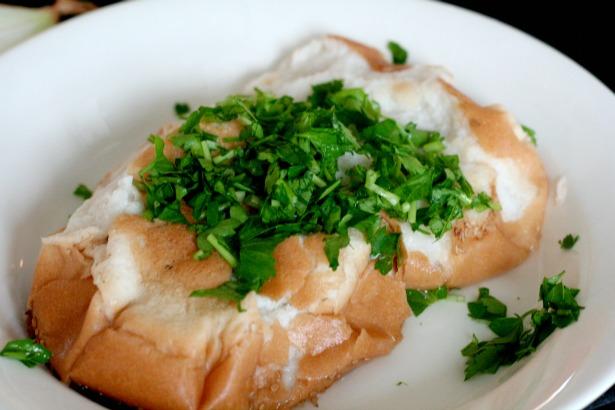 brood peterselie Surinaamse frita