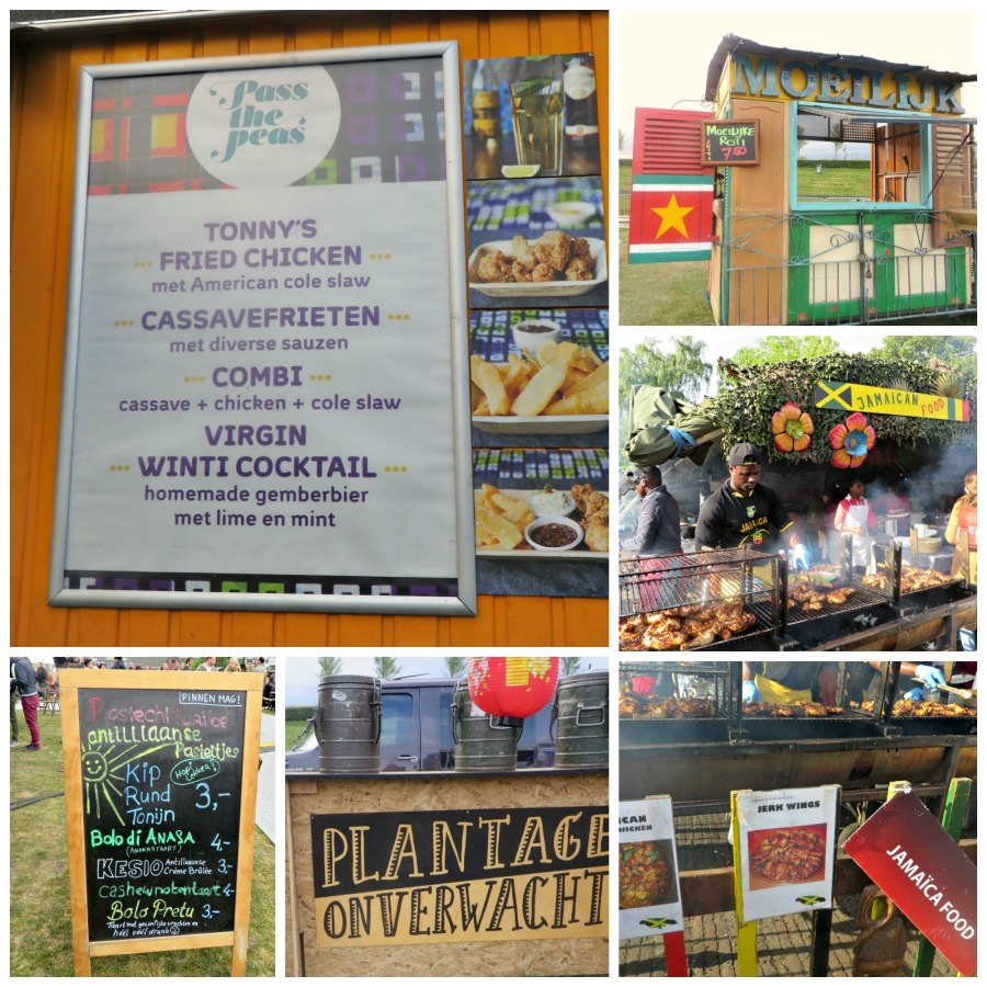 Meerdere Caribische landen zijn vertegenwoordigd op Rollende Keukens