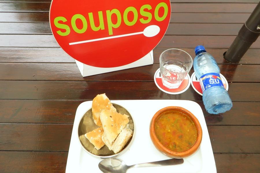 gezond eten in Suriname Souposo