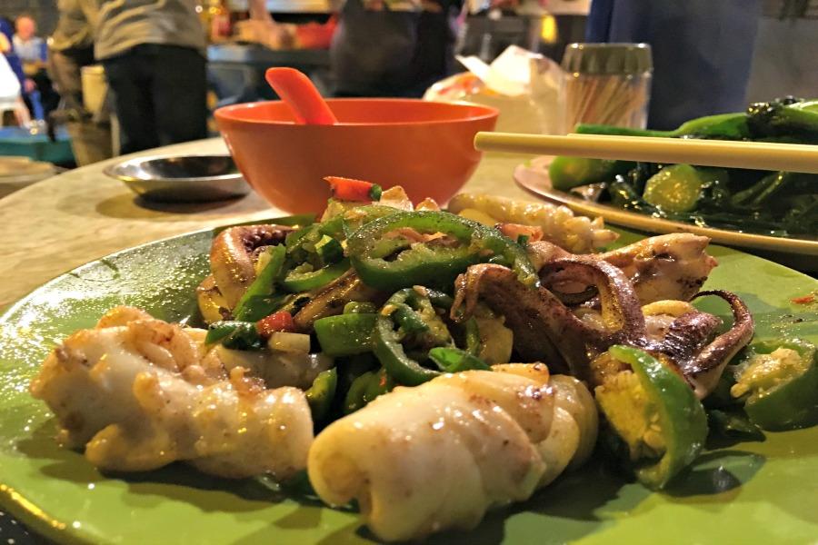 Hong Kong street food Stanley Street