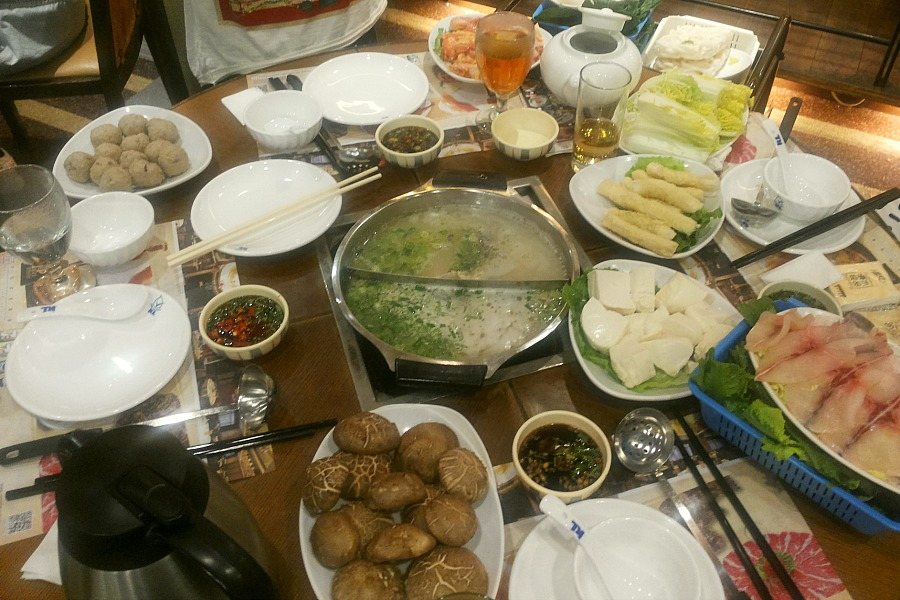 Hong Kong hot pot restaurant