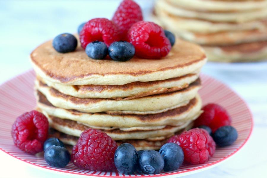 de luchtigste American pancakes recept