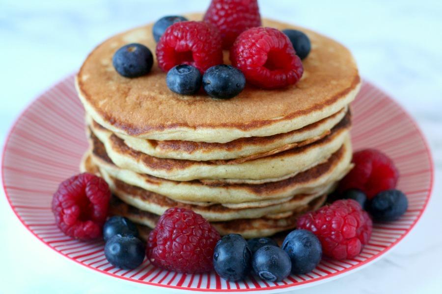 heerlijke fluffy American pancakes recept