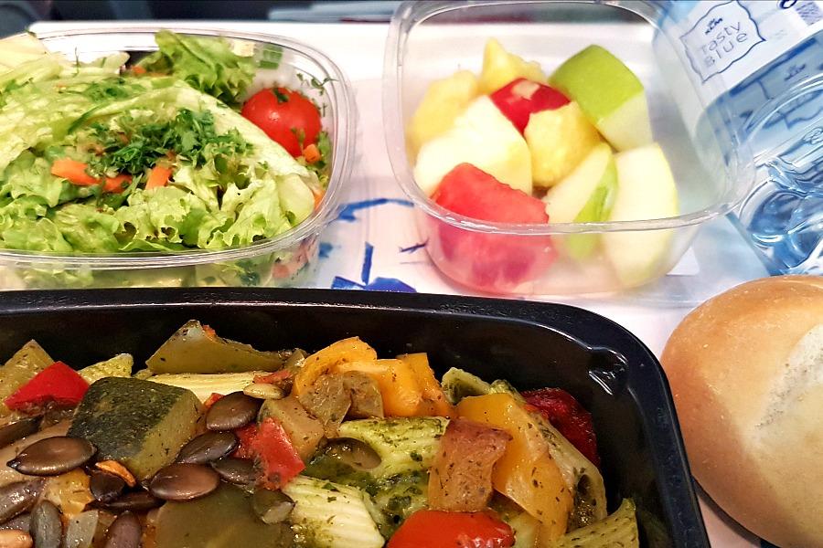 Eten in Suriname KLM heenreis