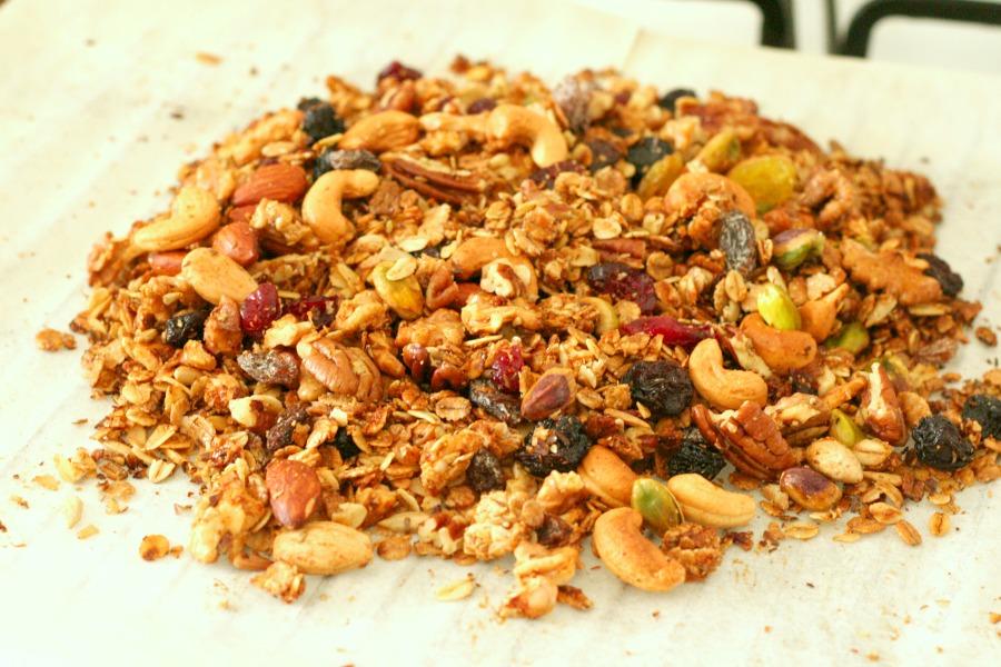 granola maken recept