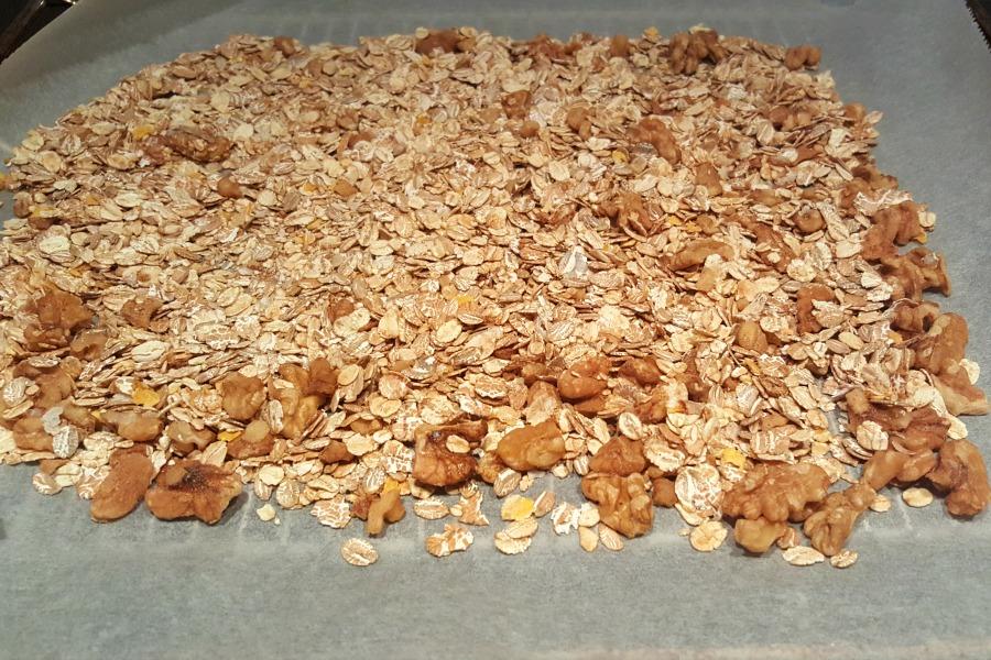 zelf granola maken