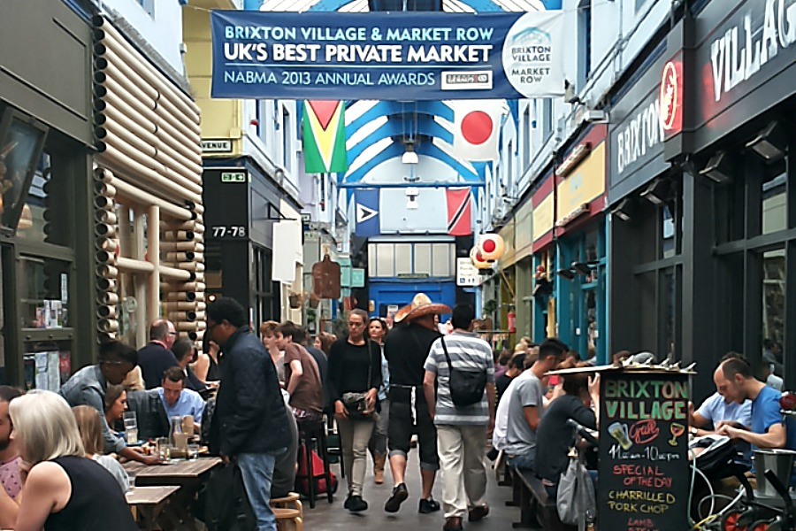 Eten in Londen Brixton Village & Market Row
