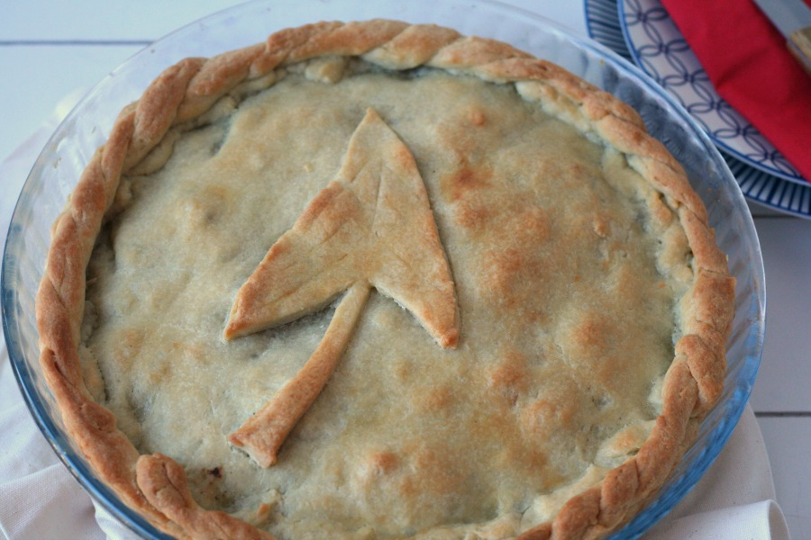 recept Surinaamse pastei met tayerblad en gehakt
