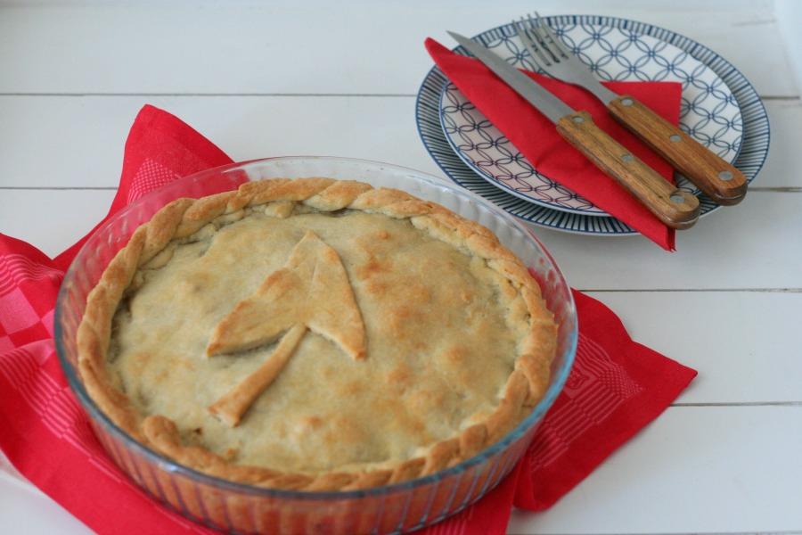 Surinaamse pastei met tayerblad en gehakt recept