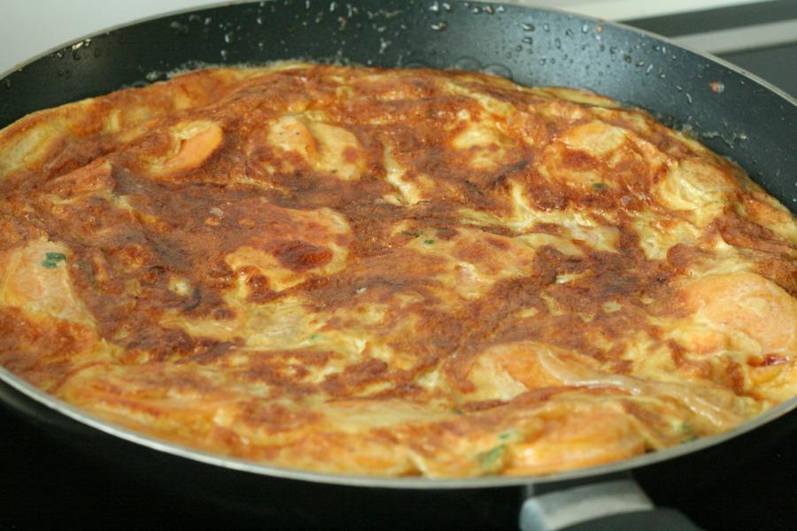 tortilla pan zoete aardappel