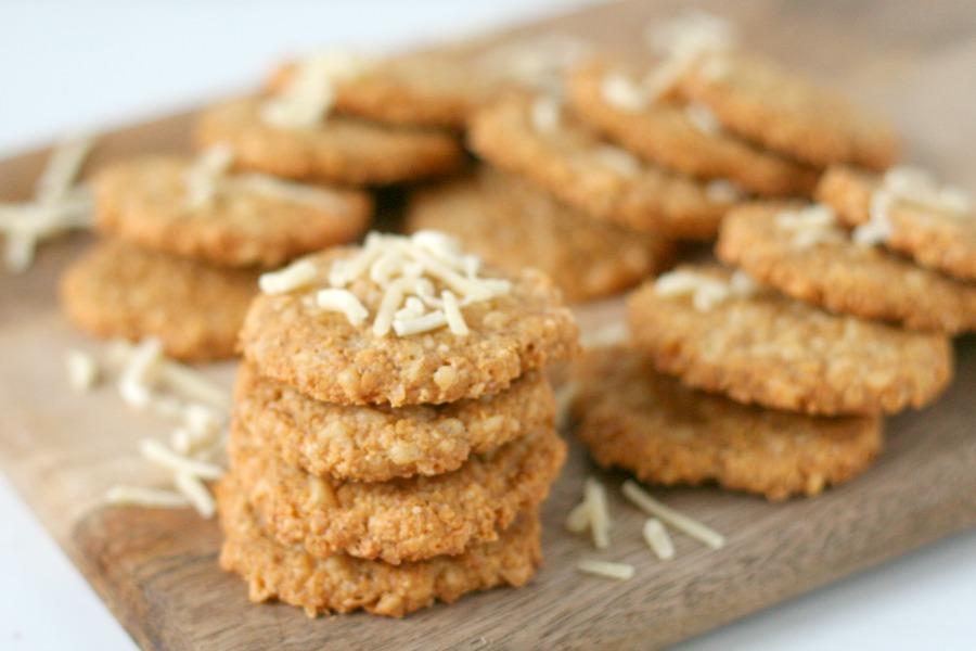 recept glutenvrije Surinaamse kaaskoekjes