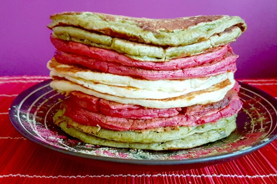 natuurlijke kleurstoffen american pancakes