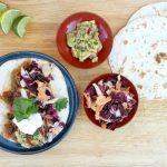 RECEPT: pulled beef tortilla's met gegrilde groenten