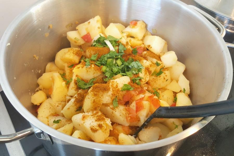 roti toespijs aardappelen