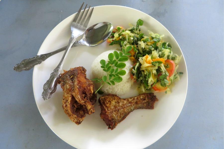 gezond eten in Suriname Pikin Sranan