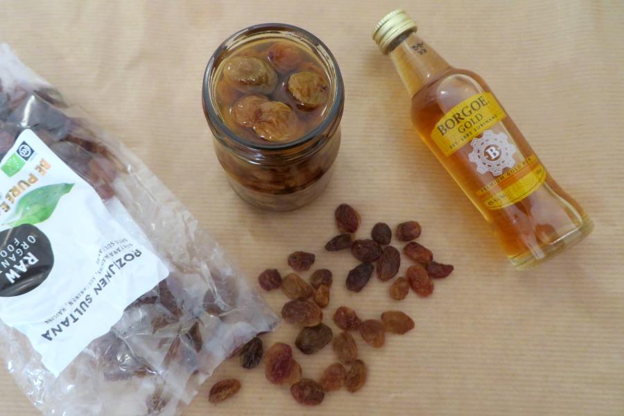 recept Surinaamse rum rozijnen