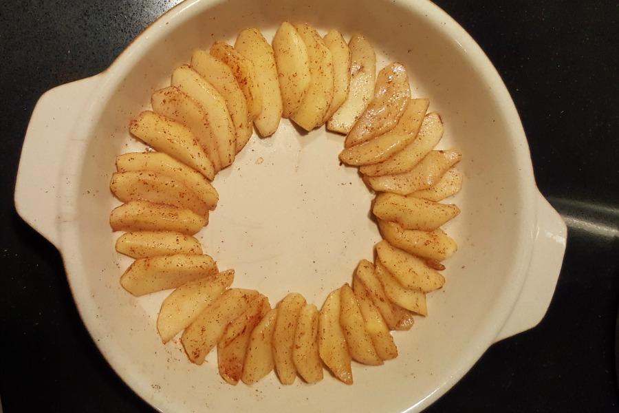 appels tarte tatin vorm