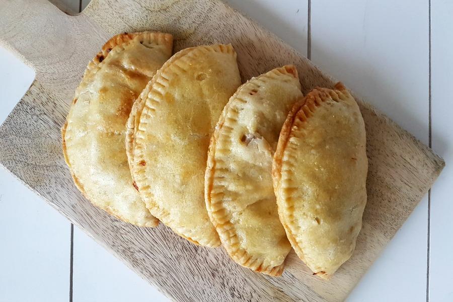recept snel pasteideeg voor Surinaamse pastei recept