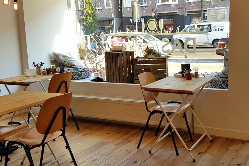 Saladebar DASlekker interieur Rijnstraat