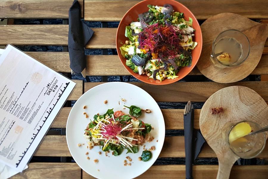 Saladebar DASlekker menu