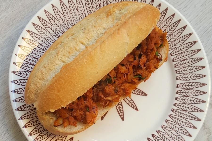Surinaams broodje bakkeljauw recept