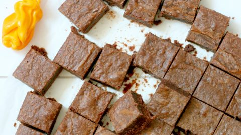 recept spicy brownies met madame Jeanette