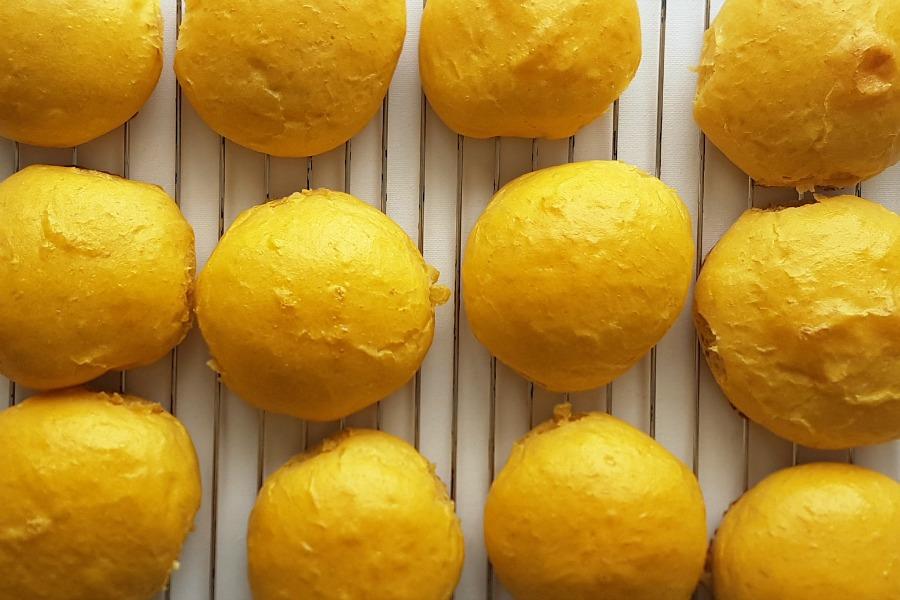 zoete aardappelbroodjes recept