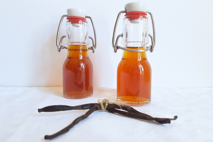 recept zelf vanille extract maken
