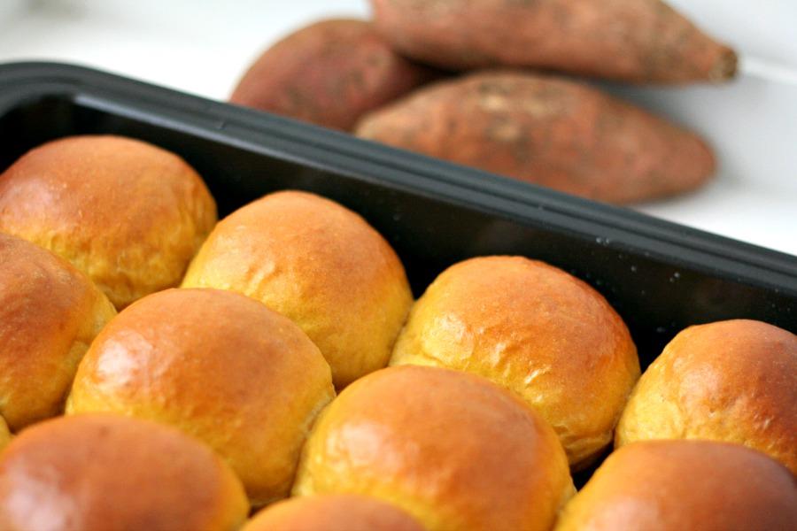 luchtige zoete aardappelbroodjes recipe sweet potato rolls