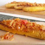 RECEPT: bakbanaan gevuld met bakkeljauw (plantain boats)
