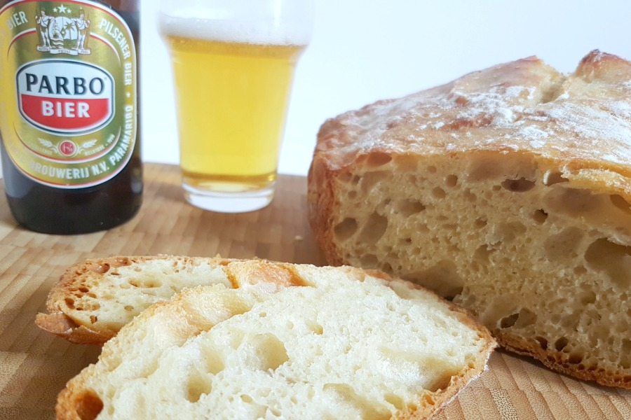 beer bread recept bier brood parbo bier