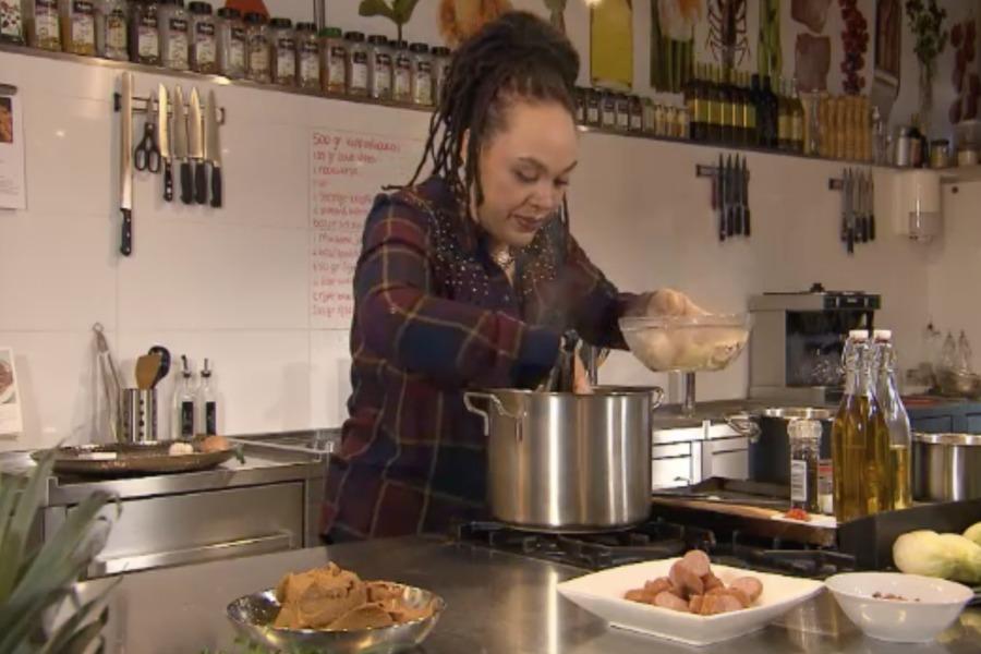 binnenstebuiten- sharon de miranda pindasoep - this girl can cook