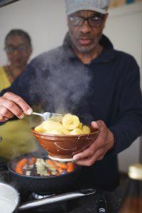 kookboek Happy & Healthy @ Home macrobiotisch Surinaams Roy Silos