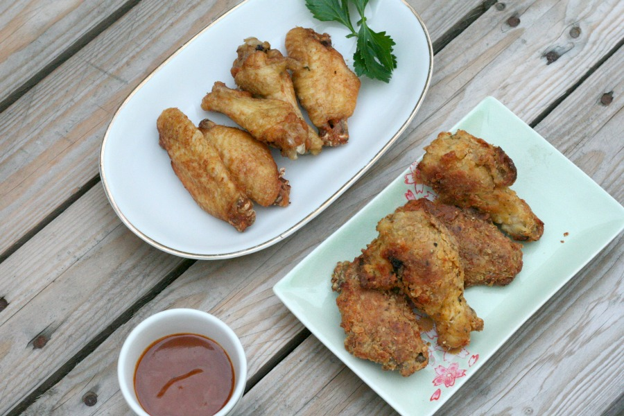 recept fried chicken wings