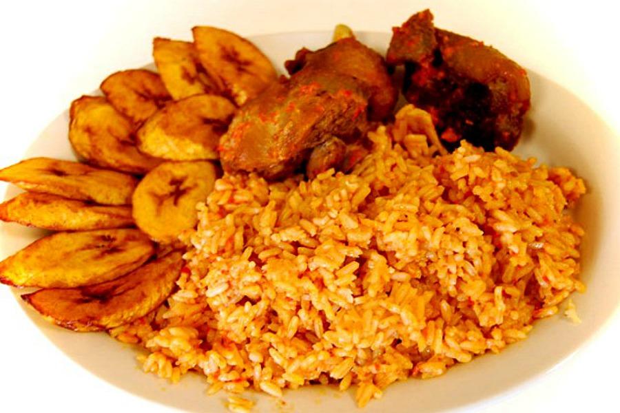 jollof rice recept