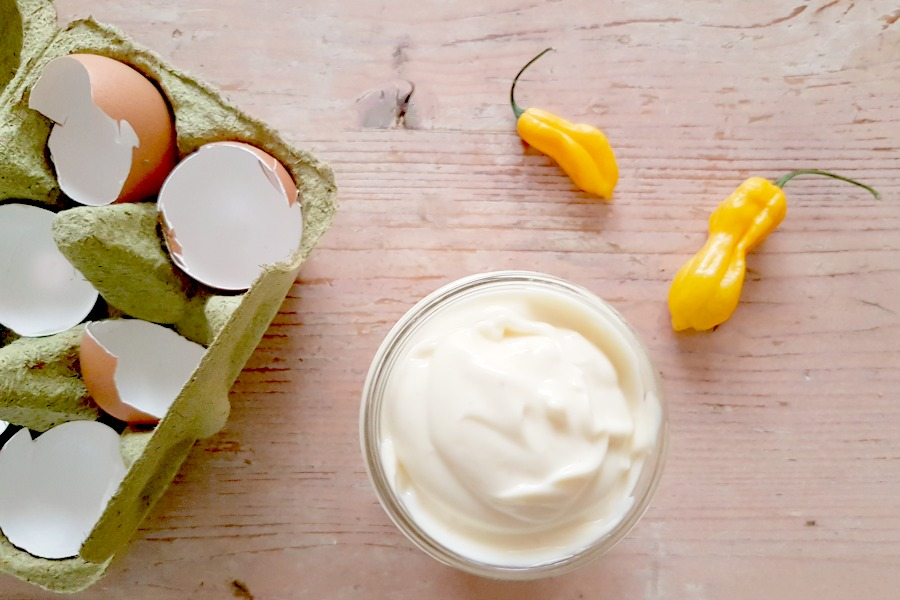 recept spicy mayonaise met madame Jeanette