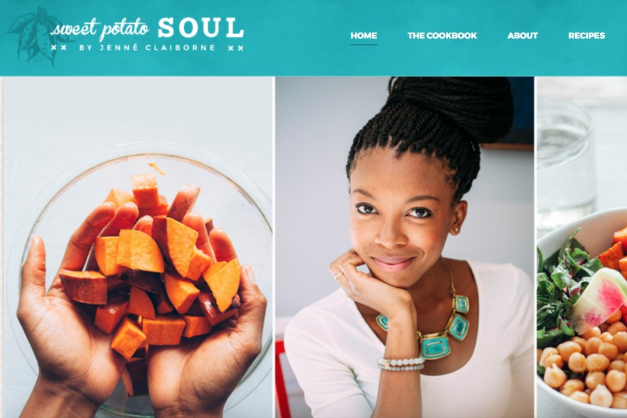 leukste black vegan blogs Sweet Potato Soul