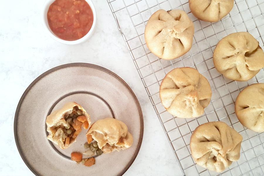 recept vegan Surinaamse pastei