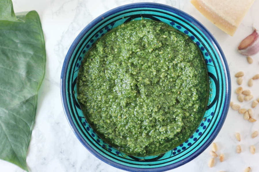 recept tayerblad pesto homemade pesto recipe tajerblad