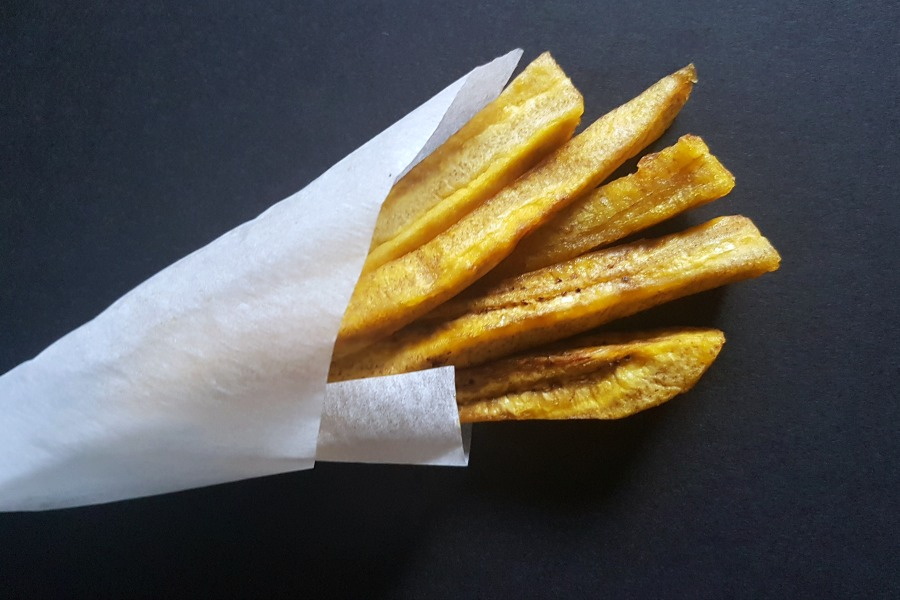 plantain fries frietjes van bakbanaan recept