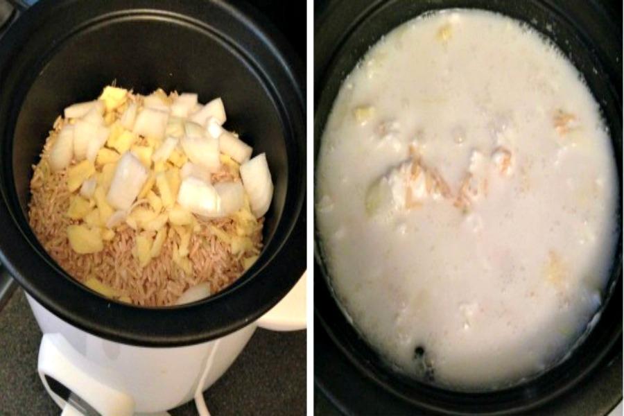 recept gember kokosrijst maken