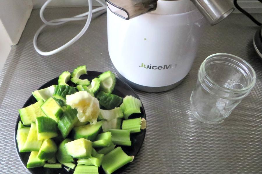bitter melon juice groen sopropo sapje ingredienten