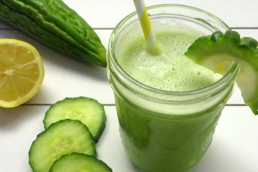 bitter melon juice groen sopropo sapje recept