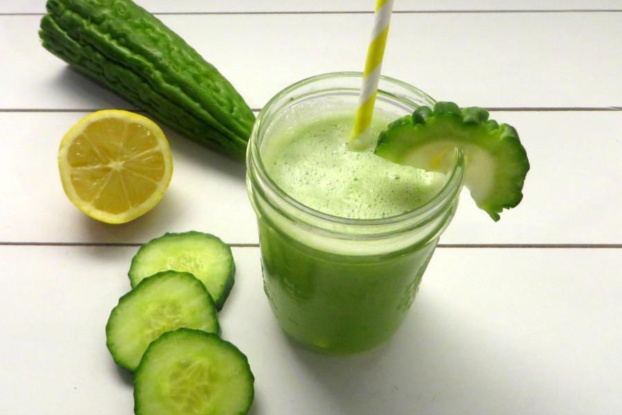 bitter melon juice recept groen sopropo sapje