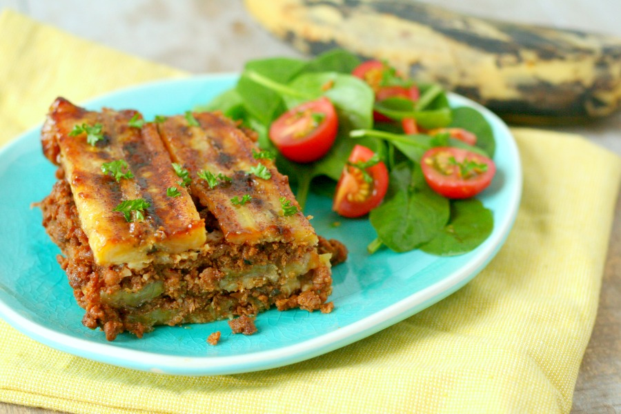 recept pastelon bakbanaan lasagna plantain
