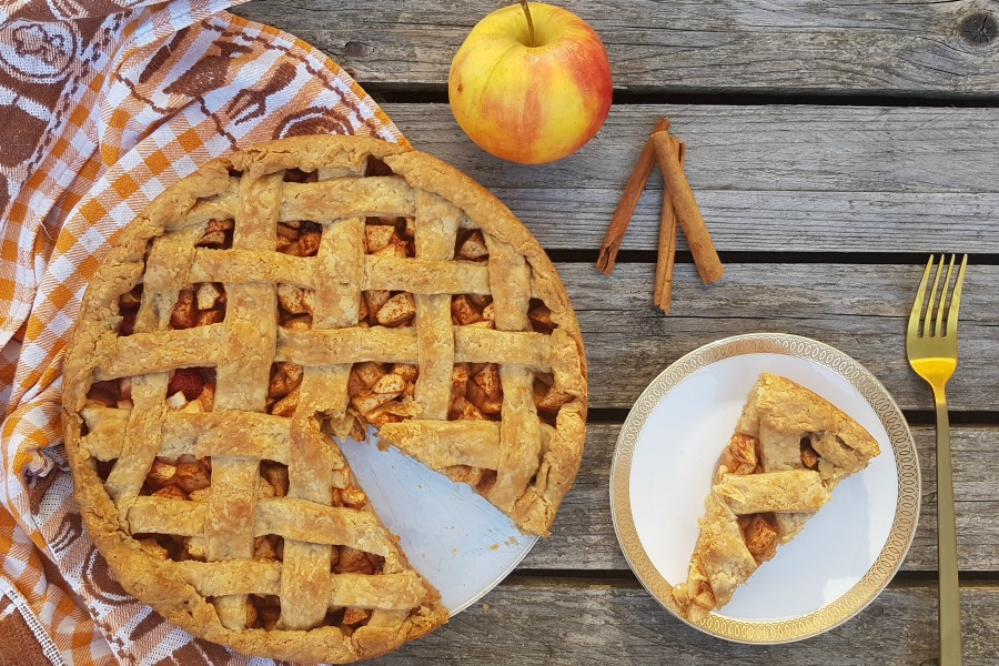 recept amerikaanse appeltaart american apple pie