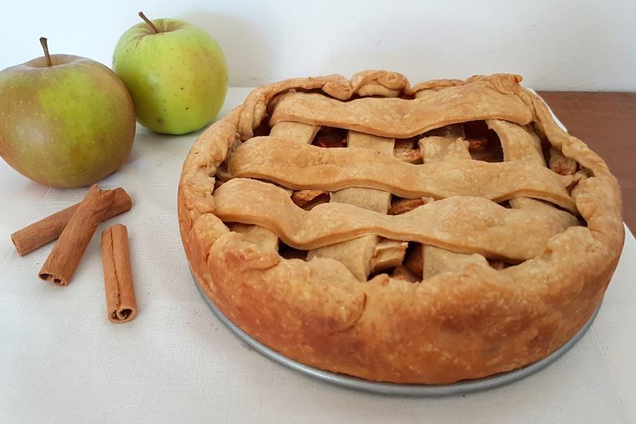 recept Amerikaanse appeltaart recipe American apple pie