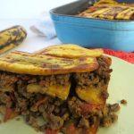 RECEPT: ovenschotel met bakbanaan en gehakt (pastelon)