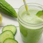 RECEPT: groen sopropo sapje (bitter melon juice)