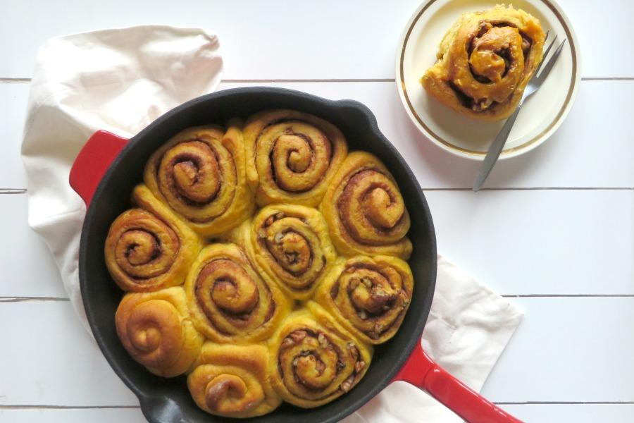 recipe sweet potato cinnamon buns zoete aardappel kaneelbollen